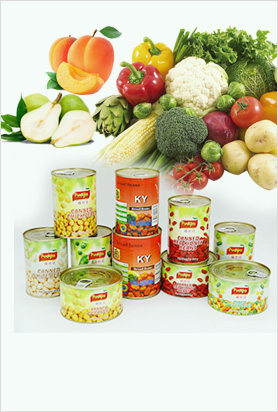 Canned Fruits& Vegetables